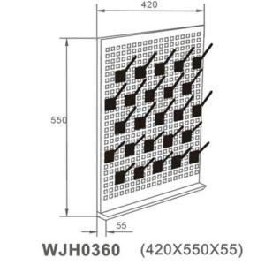 giá treo ống nghiệm WJH 0360 catalog
