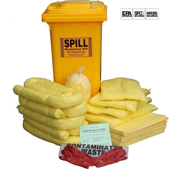 Bộ xử lý sự cố tràn hóa chất 240L